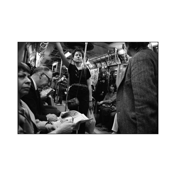 New York City subway 1986