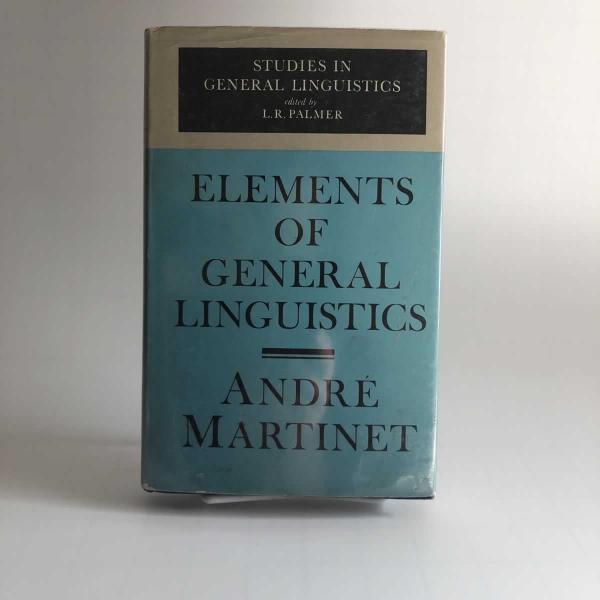 Elements of General Linguistics