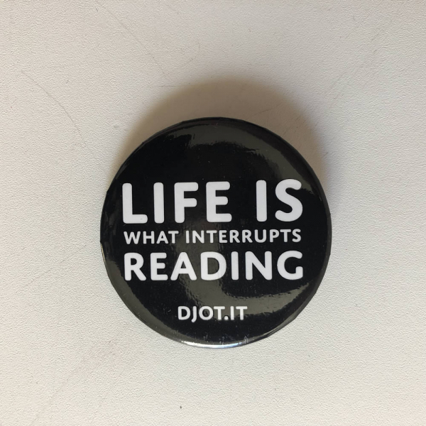 Life is what interrupts reading pin