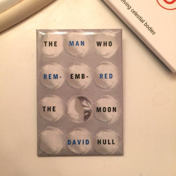 David Drummond cover art pin