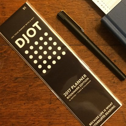 DJOT - The Bookmark Planner